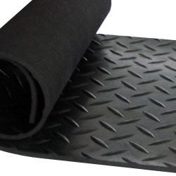 Checker Plate Roll Rubber